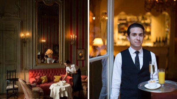 Hotel La Mirande Bar & Tea Room at La Mirande