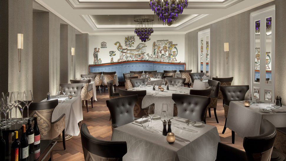 Hotel Royal Savoy Lausanne Brasserie Du Royal