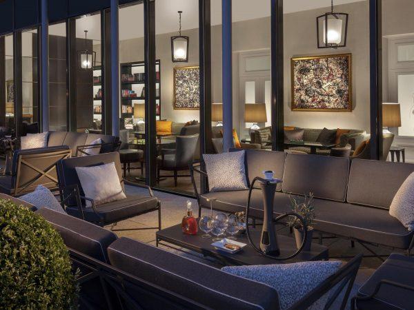 Hotel Royal Savoy Lausanne Cigar Lounge