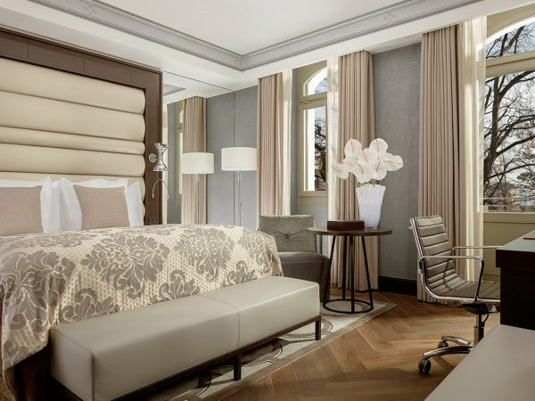 Hotel Royal Savoy Lausanne Deluxe Terrace Room