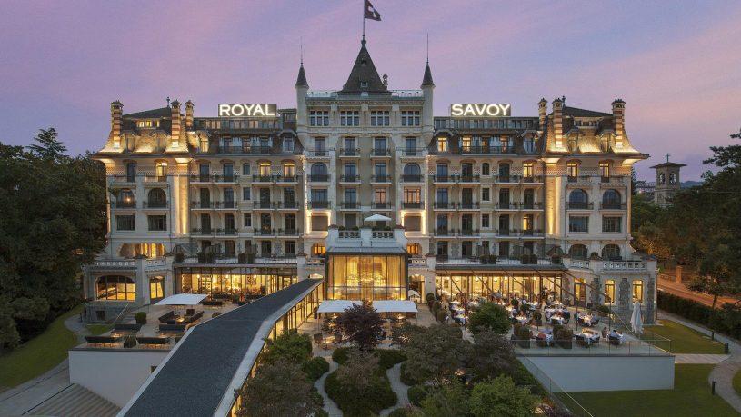 Hotel Royal Savoy Lausanne Exterior