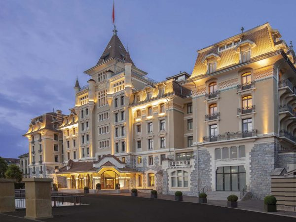 Hotel Royal Savoy Lausanne Exterior View