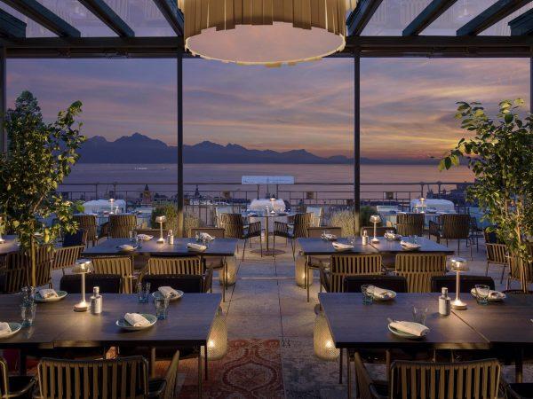 Hotel Royal Savoy Lausanne Sky Lounge