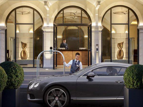 Hotel Royal Savoy Lausanne View