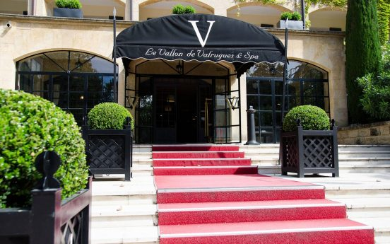 Hotel le Vallon de Valrugues Lobby View