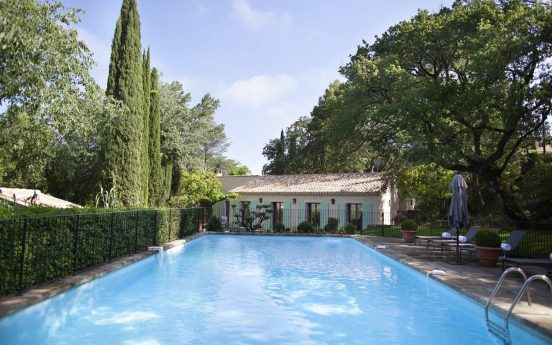 Hotel le Vallon de Valrugues Outdoor Pool