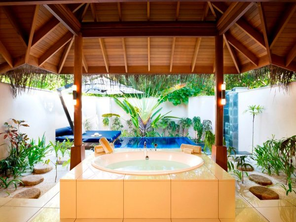 Huvafen Fushi Maldives Beach Bungalow With Pool