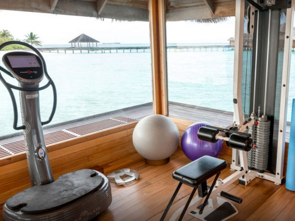 Huvafen Fushi Maldives Gym