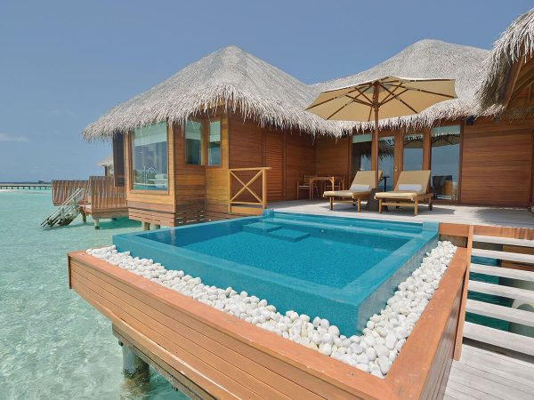 Huvafen Fushi Maldives Lagoon Bungalow With Pool