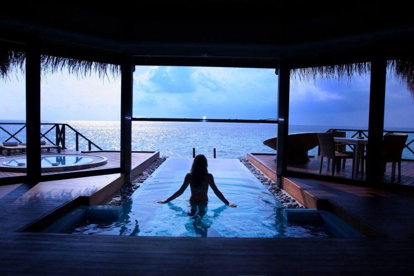 Huvafen Fushi Maldives Ocean Bungalow