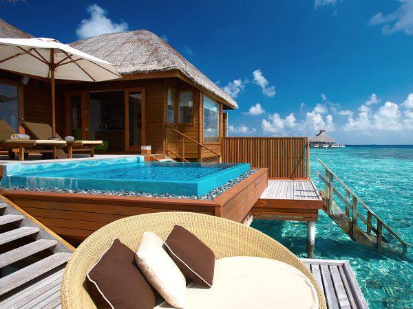 Huvafen Fushi Maldives Ocean Bungalow With Pool