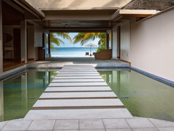 Huvafen Fushi Maldives Two Bedroom Beach Pavilion With Pool