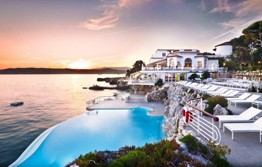Infinity pool at Hotel du Cap Eden Roc