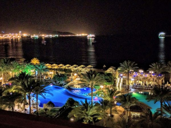 InterContinental Aqaba Night