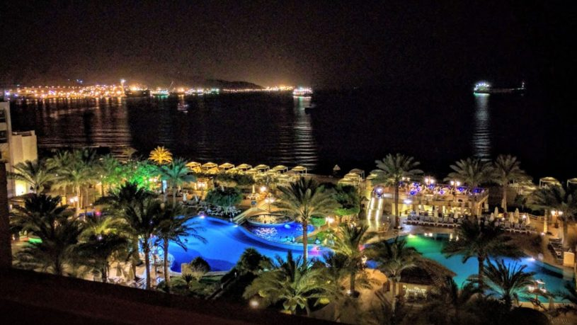 InterContinental Aqaba Night