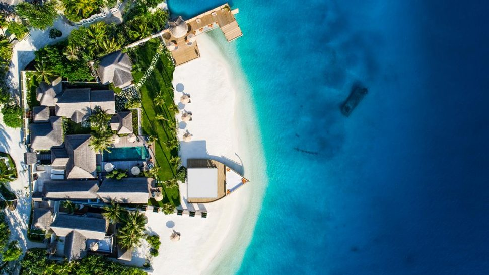 Jumeirah Vittaveli Maldives Five Bedroom Royal Residence with Pool