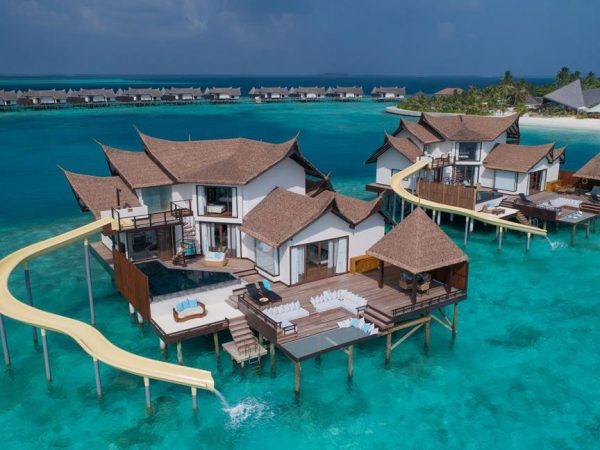 Jumeirah Vittaveli Maldives Private Ocean Retreat with Slide