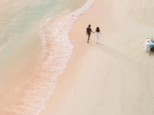 Jumeirah Vittaveli Maldives Sunrise Breakfast