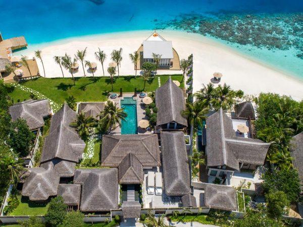 Jumeirah Vittaveli Maldives Three Bedroom Royal Residence with Pool