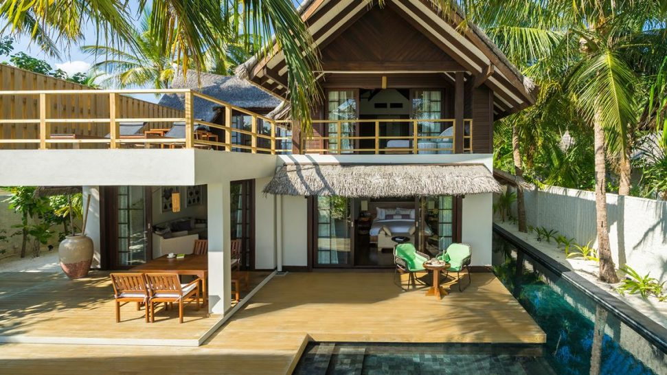 Jumeirah Vittaveli Maldives Two Bedroom Beach Suite with Pool