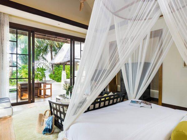 Jumeirah Vittaveli Maldives Two Bedroom Beach Villa with Pool Sunrise