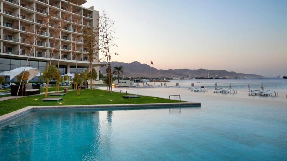 Kempinski Hotel Aqaba Red Sea Pool
