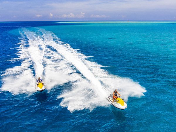 Kudadoo Maldives Private Island Jet ski safari