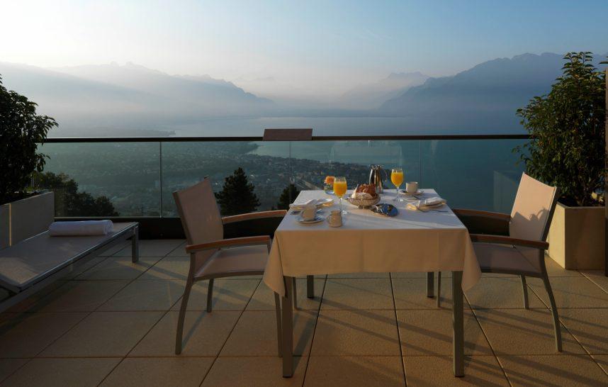 Le Mirador Resort and Spa Breakfast