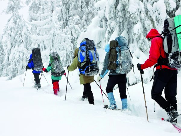 Le Mirador Resort and Spa Snowshoeing