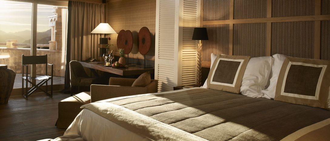 LeCrans Hotel Spa Deluxe Room Kilimandjaro