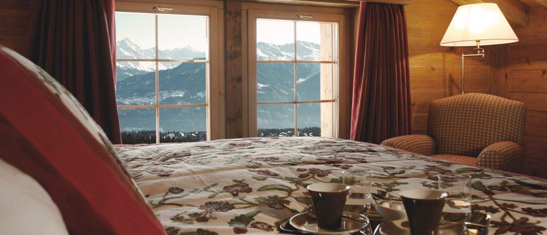 LeCrans Hotel Spa Deluxe Suite Les Alpes