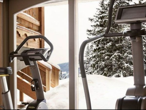 LeCrans Hotel Spa Gym