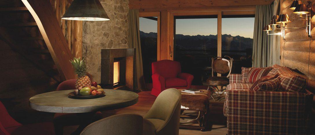 LeCrans Hotel Spa Prestige Suite Rocky Mountains