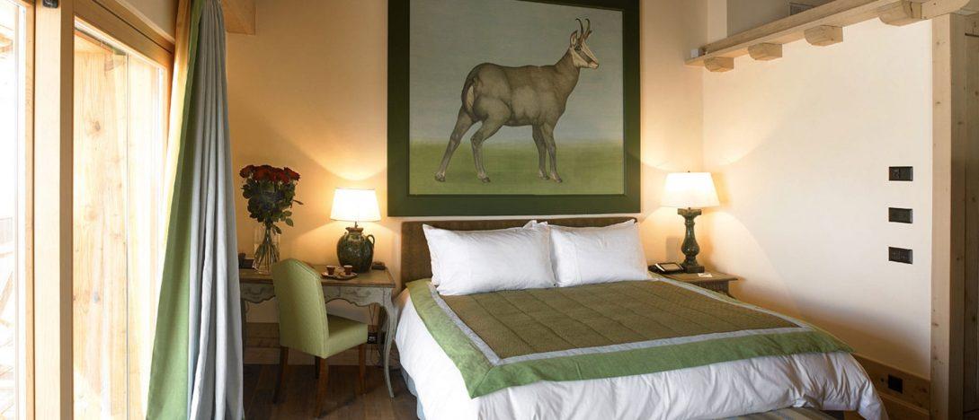 LeCrans Hotel Spa Superior Room Chamois