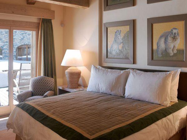 LeCrans Hotel Spa Superior Room Marmotte