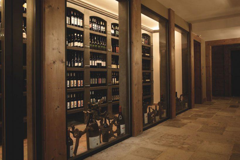 LeCrans Hotel Spa The Cellar