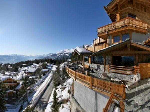 LeCrans Hotel Spa View