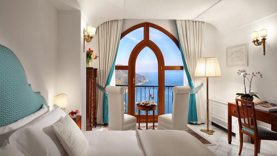 Palazzo Avino Deluxe Room Sea View