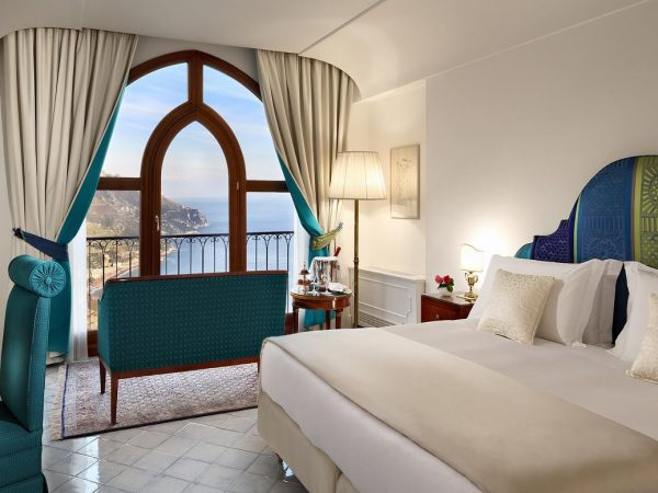 Palazzo Avino Deluxe Sea view room with Balcony Sea View and Balcony
