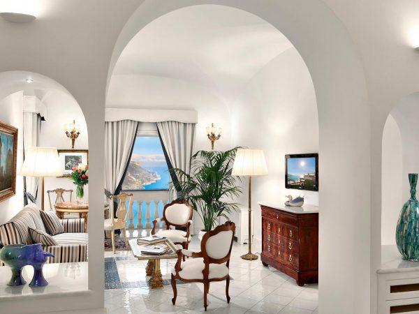Palazzo Avino Deluxe Suite Sea View and Terrace