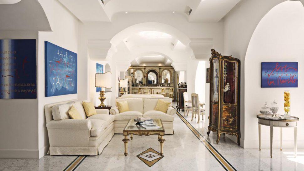 Palazzo Avino King Double Room Mountain Side