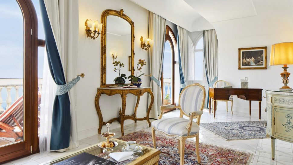 Palazzo Avino Orizzonte Suite Sea View and Balcony