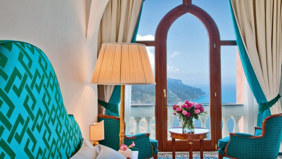 Palazzo Avino Queen with balcony Partial Sea View