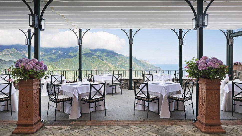 Palazzo Avino Rossellinis Restaurant