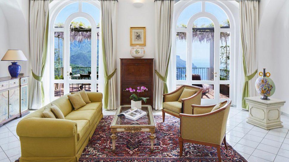 Palazzo Avino Superior Junior Suite Sea View