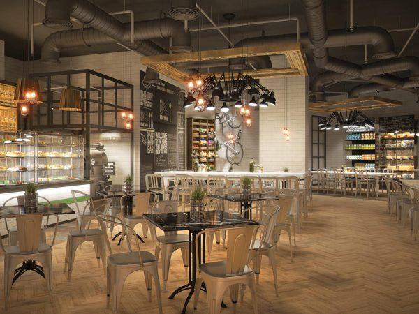 Paramount Dubai Hotel Bar & lounge