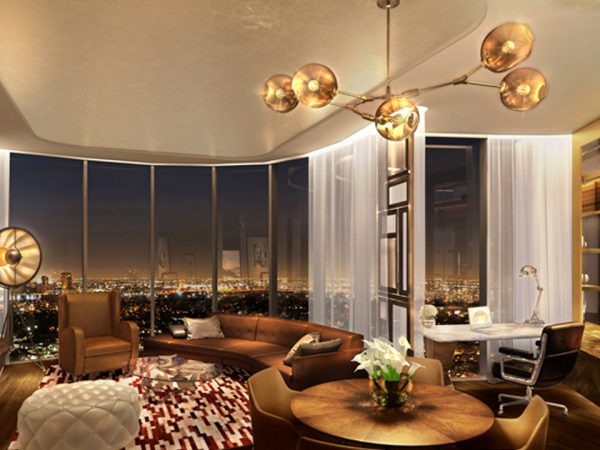 Paramount Dubai Hotel Lobby Lounge and cafe