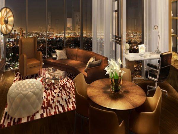 Paramount Dubai Hotel Pool & Lounge
