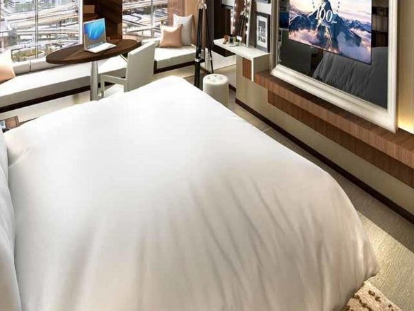 Paramount Dubai Hotel Scene Room Downtown