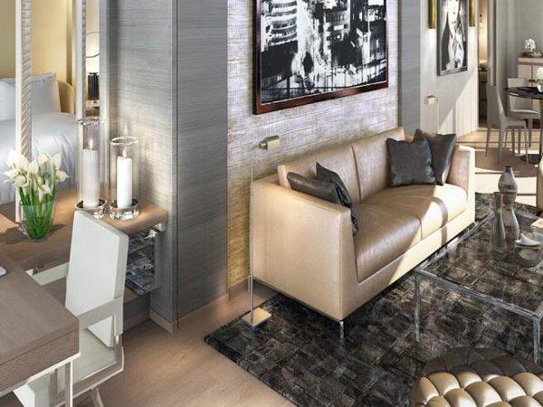 Paramount Dubai Hotel Silver Screen Suite